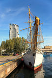 Port city of Gdynia Stock Image