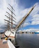 Port city of Gdynia Royalty Free Stock Photo