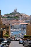 Port and city of Marseille Stock Images