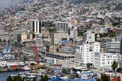Port city of Valparaiso, Chile. Royalty Free Stock Image