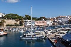 Port of Ciutadella Stock Images