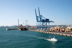 Port of Civitavecchia, Italy Stock Image