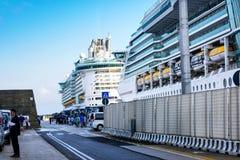 Port Civitavecchia, Włochy Zdjęcia Stock