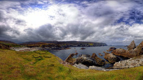 Port Co Donegal Irland arkivfoton