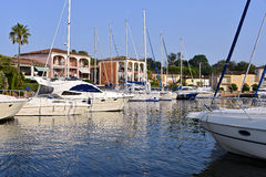Port of Cogolin in France Royalty Free Stock Photos