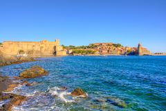 Port of Collioure Stock Image