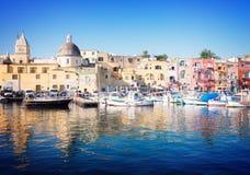 Procida island, Italy Stock Photos