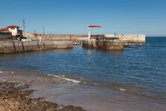 Port of Comillas Royalty Free Stock Photo