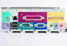 Port computer Stock Image