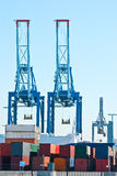 Port. Container. Stock Images