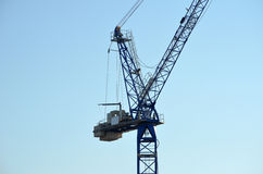 Port container crane Royalty Free Stock Image
