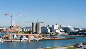 Port of Copenhagen Royalty Free Stock Photos