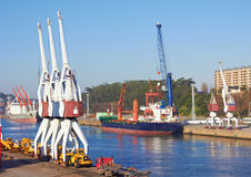 Port craines Stock Images