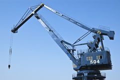 Port crane Stock Photos
