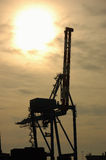Port Crane Royalty Free Stock Photos