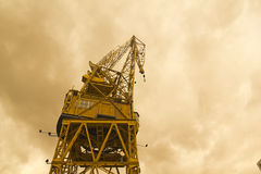 Port crane Stock Image