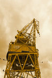 Port crane Royalty Free Stock Images