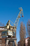 Port crane Stock Photos