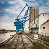 Port crane Royalty Free Stock Photos