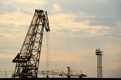 Port crane Stock Photography