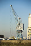 Port crane Royalty Free Stock Image
