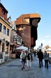 Port crane, Gdansk, Poland Stock Image
