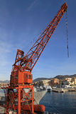 Port crane Royalty Free Stock Image