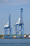 Port Cranes Stock Images