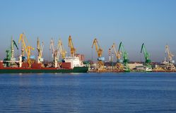 Free Port Cranes Royalty Free Stock Photos - 8906248