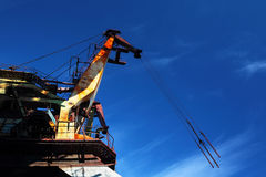 Port cranes Royalty Free Stock Photos