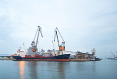Port Cranes Royalty Free Stock Photography