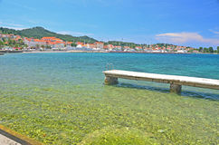 Port in Croatia Royalty Free Stock Photos