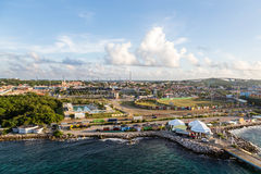 Port of Curacao Stock Image