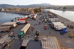 Port d'île de Kos Image stock