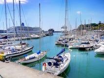 Port d'île de la Madère, Funchal Photos libres de droits