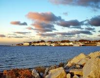 Port d'île de Mackinac, Michigan Images libres de droits