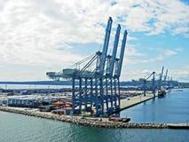 Port d'Aarhus Photographie stock