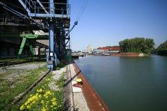 Port d'Alberner, Vienne Image libre de droits