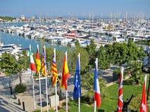 Port d'Alcudia, Majorca Image libre de droits