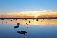 Port d'Alvor au Portugal Photos libres de droits