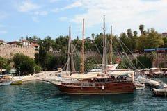 Port d'Antalya Image libre de droits