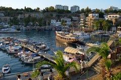 Port d'Antalya, Turquie Image libre de droits
