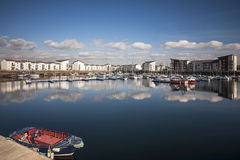 Port d'Ardrossan Image stock