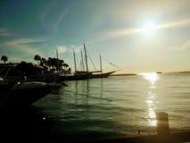 Port d'Aruba Photographie stock