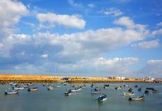 Port d'Asilah Image stock