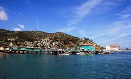 Port d'Avalon Images libres de droits