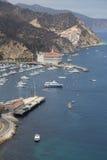 Port d'Avalon sur l'île de Catalina Photographie stock libre de droits