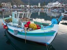 Port d'Elounda en Crète, Grèce Photos libres de droits