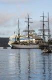 Port d'embarquement de Bergen Images libres de droits