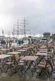 Port d'embarquement de Bergen Photo libre de droits